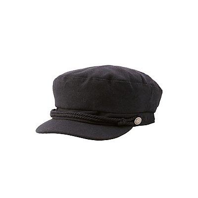 Braided Newsboy Hat