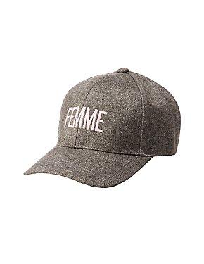 Femme Baseball Hat