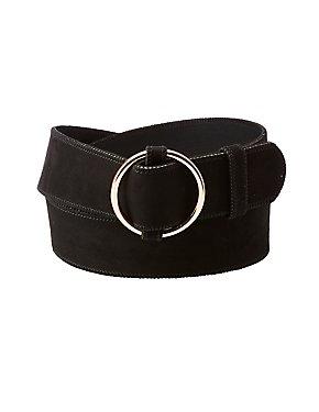 Plus Size Oval Ring Belt