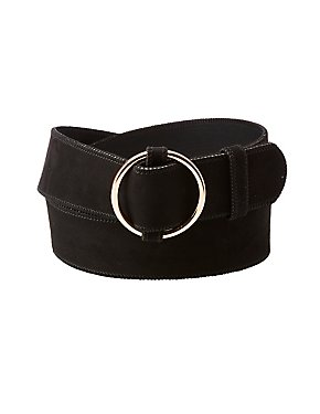 Plus Size Oval Ring Belt