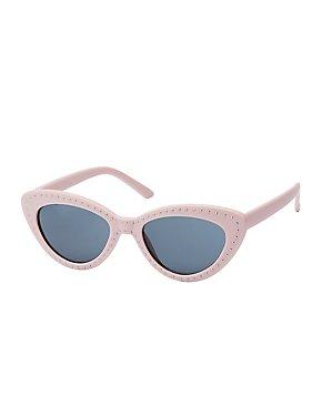 Studded Cat Eye Sunglasses