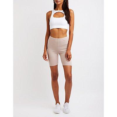 Bermuda Biker Shorts