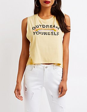 Outdream Yourself Graphic Tank
