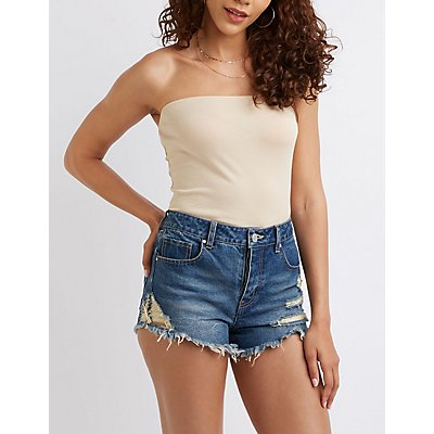 Tube Crop Top by Charlotte Russe