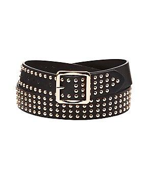Plus Size Studded Belt