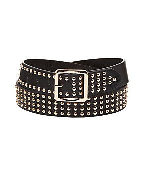 Plus Size Studded Belt