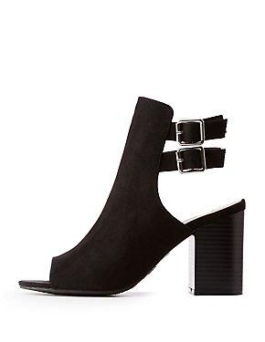 336d935b33c Peep Toe Ankle Strap Sandals