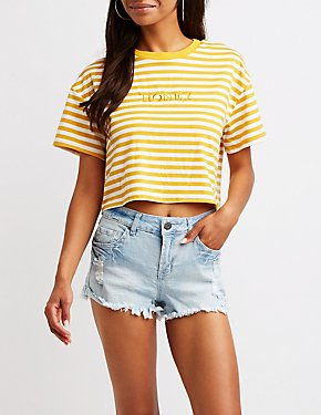 Striped Honey Tee