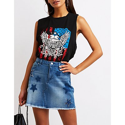 Liberty Of America Tank Top