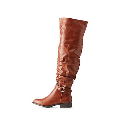 Slouchy Riding Boots