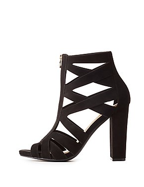 Platform Shoes Black Heels