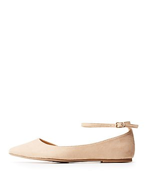 Ankle Strap Flats
