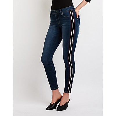 Refuge Striped Denim Jeans