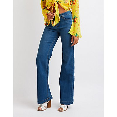Mid Rise Bootcut Jeans