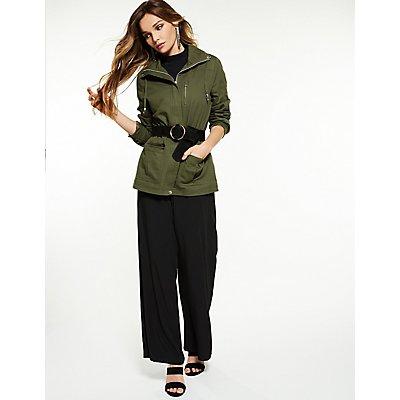 Cinched Anorak Jacket