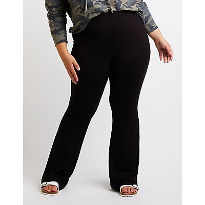 Plus Size Flare Pants
