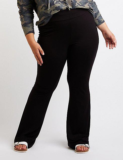 Plus Size Flare Pants Charlotte Russe