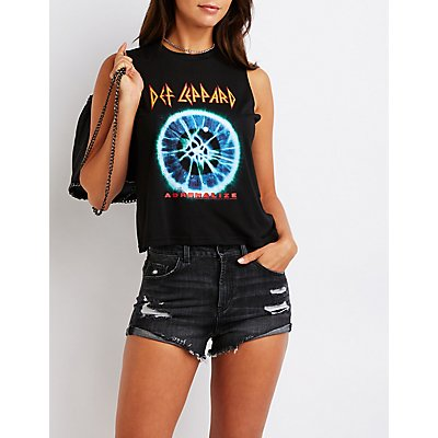 Def Leppard Muscle Tank Top