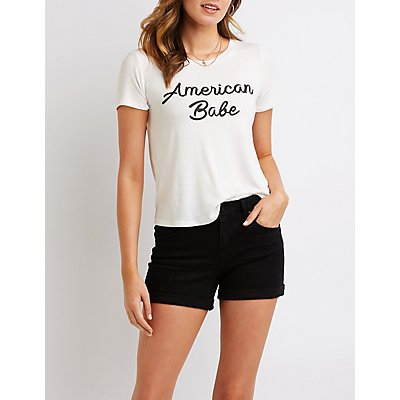 American Babe Graphic Tee