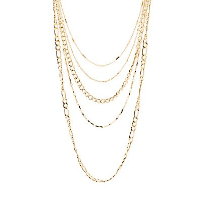 Chain Necklaces - 5 Pack