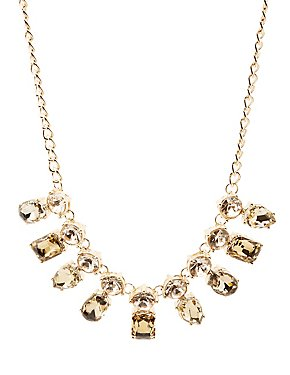Bejeweled Chain Necklace