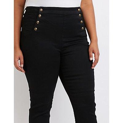 Plus Size Cello Sailor Jeans