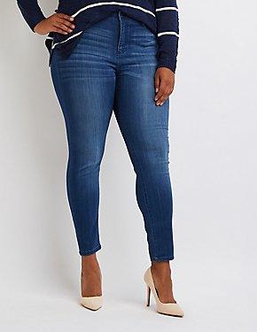 Plus Size Cello Skinny Jeans