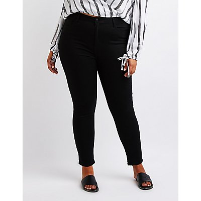 Plus Size Cello Hi Rise Skinny Jeans