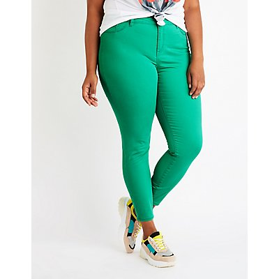 Plus Size Refuge Skintight Legging Jeans