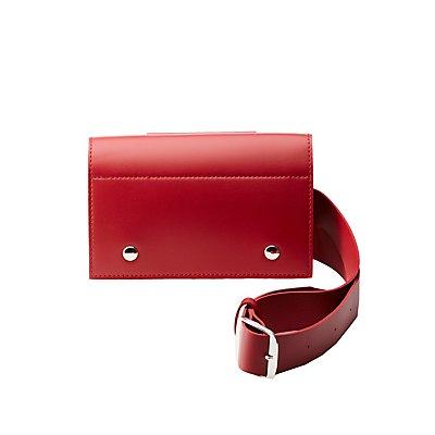 Faux Leather Belt & Crossbody Bag