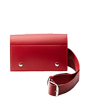 Faux Leather Belt & Crossbody Bag