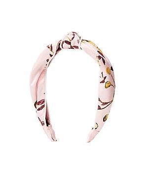 Printed Twist Headband
