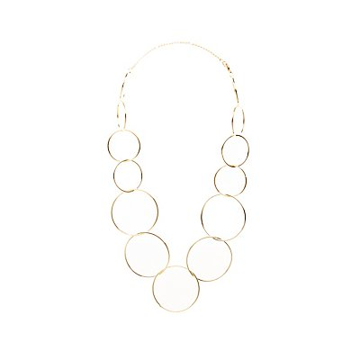 Circle Chainlink Necklace