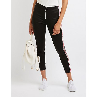 Varsity Stripe O-Ring Leggings