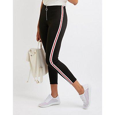 Varsity Stripe O-Ring Leggings