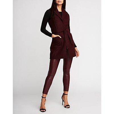 Wool Longline Vest