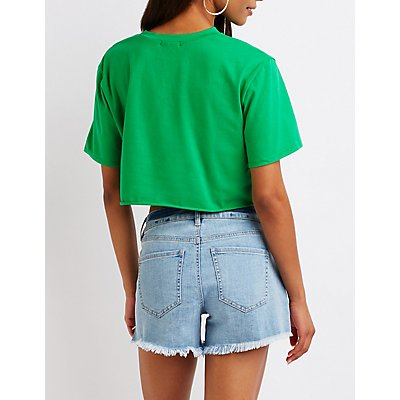 Stay Chill Crop Tee
