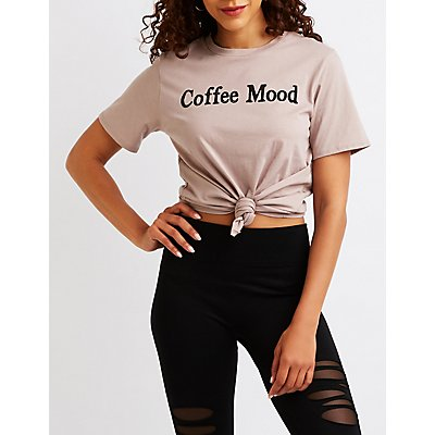Coffee Mood Graphic Tee