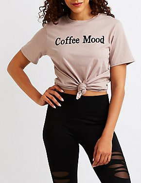 Coffee Mood Graphic Tee