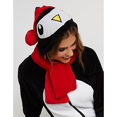 Penguin Zip Up Onesie