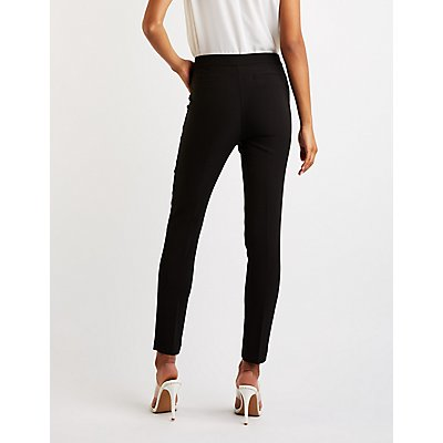 O Ring Pleated Trousers