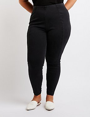 Plus Size Refuge Washed Skinny Jeans