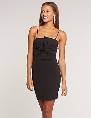 Twisted Mini Bodycon Dress
