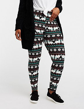 Plus Size Lama Leggings