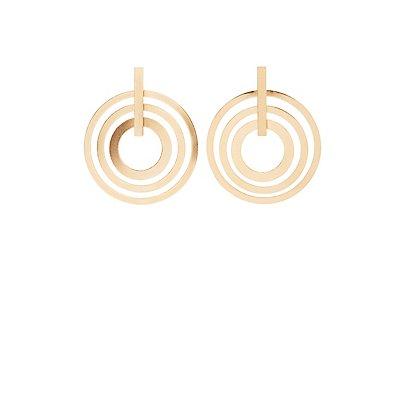 Oval Teardrop Earrings