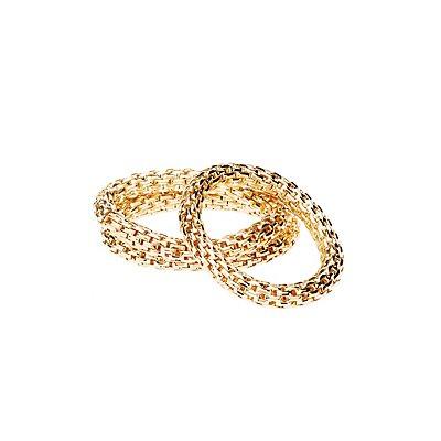 Textured Bracelets - 3 Pack