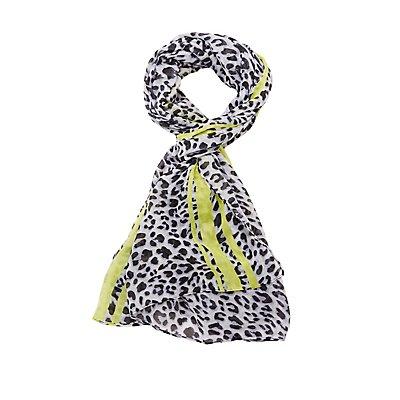 Lightweight Leopard Scarf