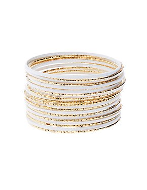 Textured Bangles