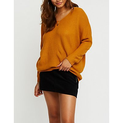 Dolman Pullover Sweater