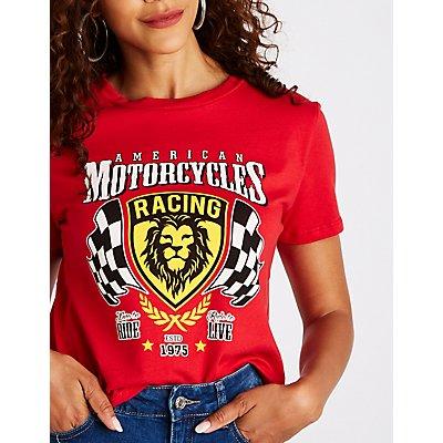 American Motorcycles Racing Tee